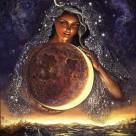 В дни растущей луны